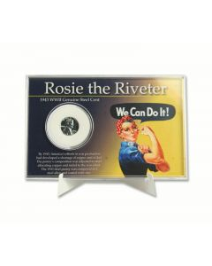 Rosie the Riveter 1943 Steel Cent