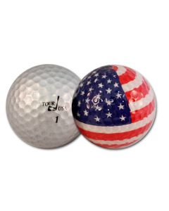 Flag Golf Balls - 2pk