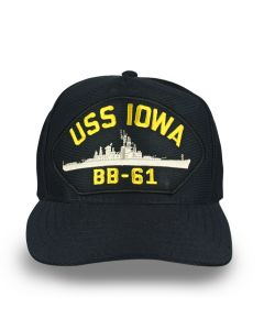 Adult USS Iowa Cap