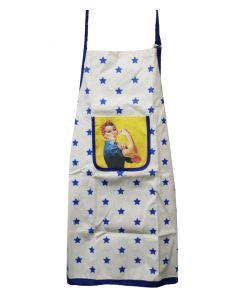 Rosie the Riveter Starry Apron