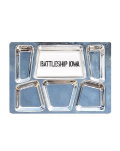 Battleship IOWA Mess Tray Magnet