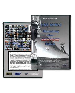 DVD USS IOWA Honoring the American Spirit