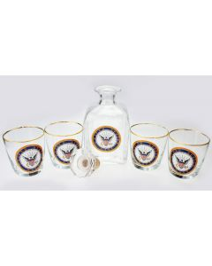 U.S. Navy Decanter Set
