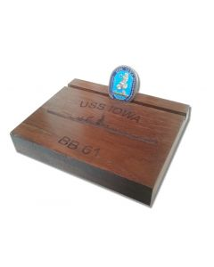 IOWA Deck Challenge Coin Holder