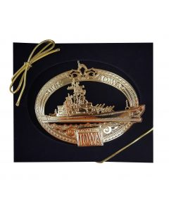 USS Battleship IOWA Ornament