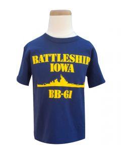 Boys Battleship IOWA Tee