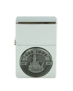 USS Iowa Electronic Pocket Lighter