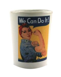 Rosie the Riveter Shot Glas